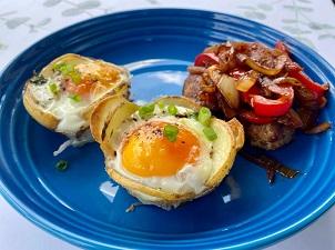 Tikka style sausages